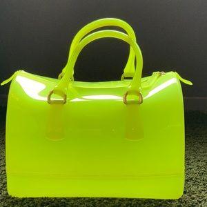Furla Candy Rubber Handbag